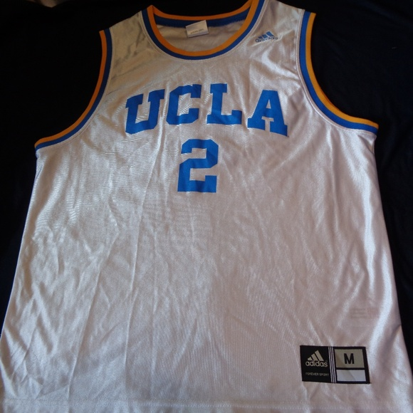 outlet store c8992 c05af UCLA #2 Adidas Basketball Jersey Medium Adult Men